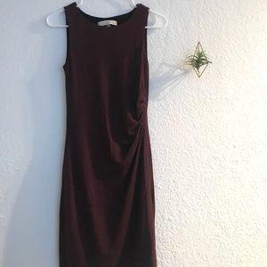 Side-twist Dress